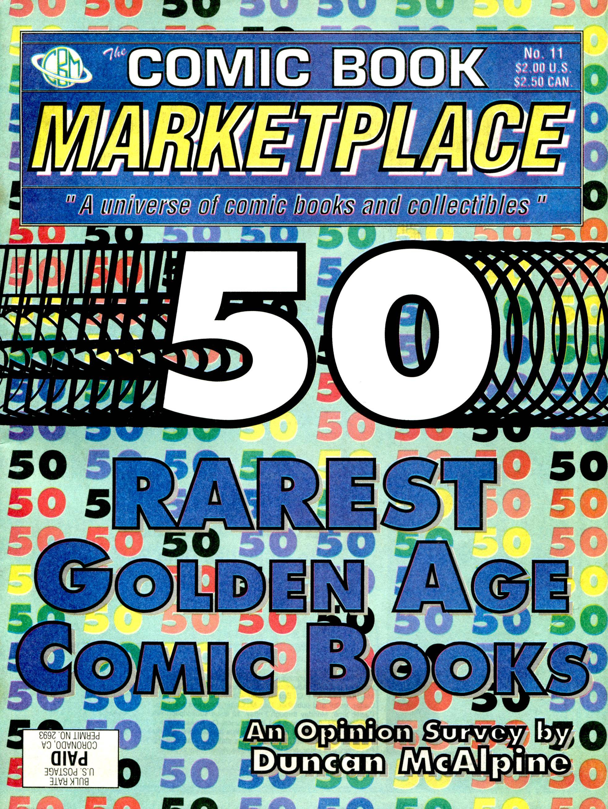 Comic Book Marketplace 011 1992