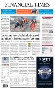 Financial Times Asia - August 5, 2020