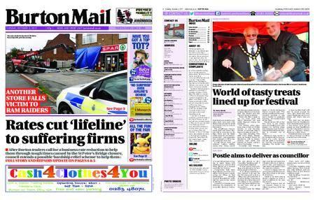 Burton Mail – October 03, 2017