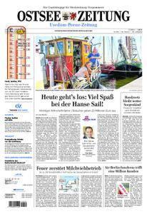 Ostsee Zeitung Wolgast - 09. August 2018