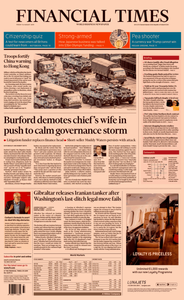 Financial Times UK – 16 August 2019