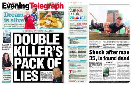 Evening Telegraph First Edition – October 04, 2017