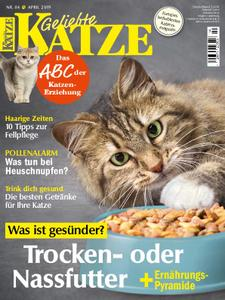 Geliebte Katze – April 2019