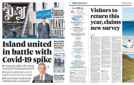 The Press and Journal Moray – January 19, 2021