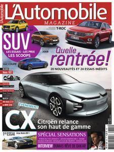 L'Automobile Magazine - octobre 2016