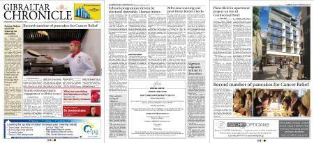 Gibraltar Chronicle – 14 February 2018