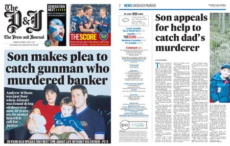 The Press and Journal Moray – October 12, 2020