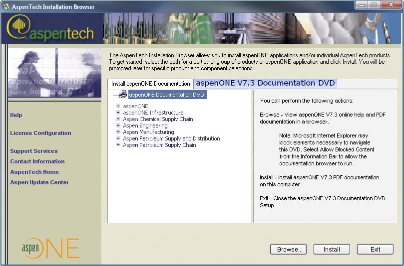 AspenTech AspenONE 7.3 DVD3 Documentation