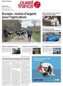 Ouest-France Édition France – 20 février 2020