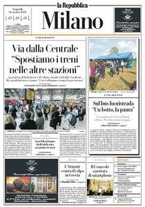 la Repubblica Milano - 18 Ottobre 2019