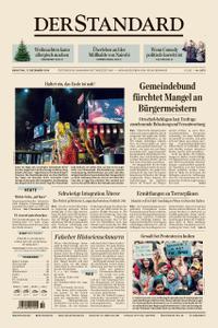 Der Standard – 17. Dezember 2019