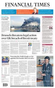 Financial Times Europe - September 11, 2020