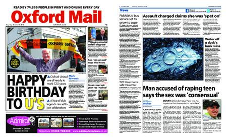 Oxford Mail – October 27, 2018