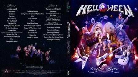 Helloween - United Alive (2019) [2xBlu-ray 1080p + BDRip 720p]