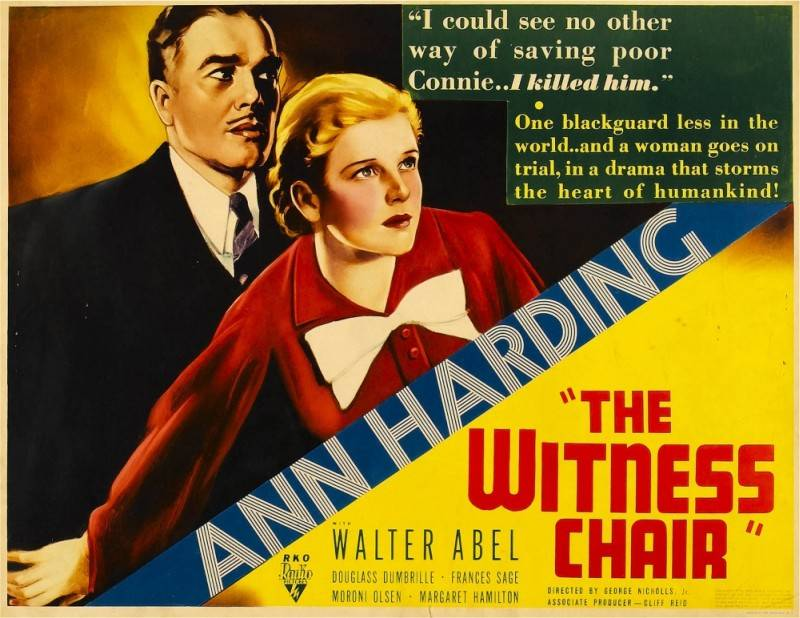 The Witness Chair (1936)