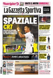 La Gazzetta dello Sport Roma – 28 ottobre 2018