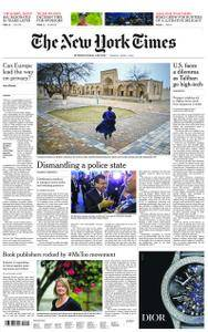 International New York Times - 03 April 2018