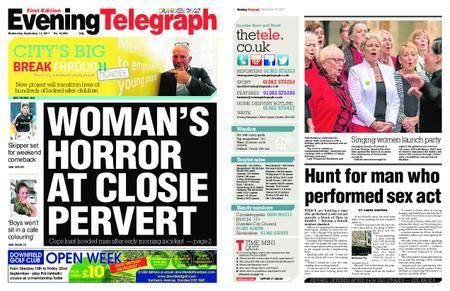 Evening Telegraph First Edition – September 13, 2017