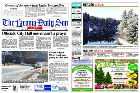 The Laconia Daily Sun – December 13, 2018