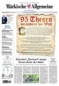 Märkische Allgemeine Dosse Kurier - 30. Oktober 2017