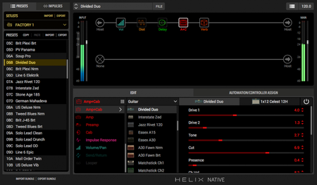 Line6 Helix Native v1.0 WiN