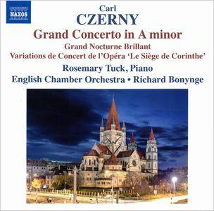 Rosemary Tuck, English CO, Richard Bonynge - Carl Czerny: Grand Concerto in A minor; Grand Nocturne Brillant (2016)