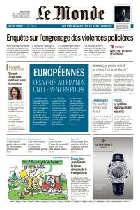 Le Monde du Mardi 14 Mai 2019