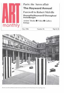 Art Monthly - May 1986   No 96