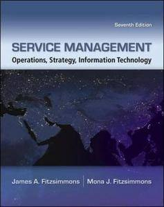 Service Management: Operations, Strategy, Information Technology [Repost]