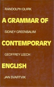 A Grammar of Contemporary English (repost)