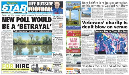 Shropshire Star Shrewsbury Edition – May 14, 2019