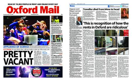 Oxford Mail – March 14, 2019