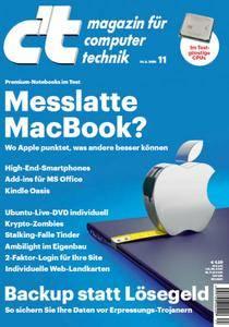 ct Magazin für Computertechnik No 11 vom 14. Mai 2016