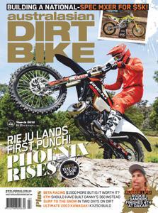 Australasian Dirt Bike - March 2021