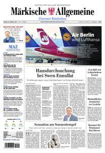 Märkische Allgemeine Zossener Rundschau - 13. Oktober 2017