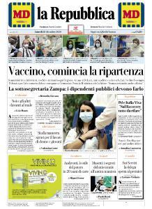la Repubblica - 28 Dicembre 2020