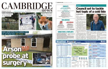 Cambridge News – July 28, 2021