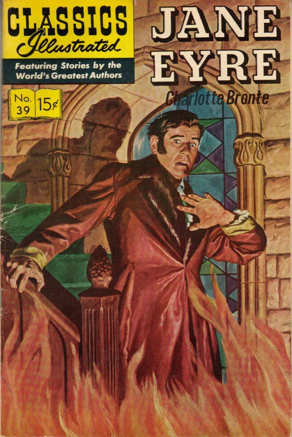 For Spectre99 - Classics Illustrated 039 Jane Eyre Charlotte Bronte cbr