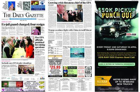 The Daily Gazette – April 06, 2018