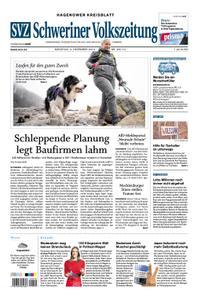 Schweriner Volkszeitung Hagenower Kreisblatt - 03. Dezember 2019