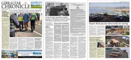 Gibraltar Chronicle – 13 January 2020