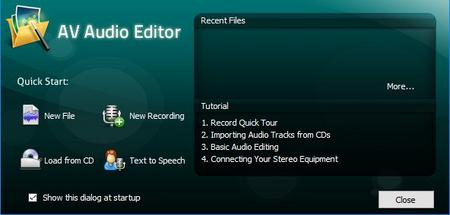 AV Audio Editor 7.5.6