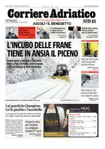 Corriere Adriatico Ascoli - 23 Febbraio 2018