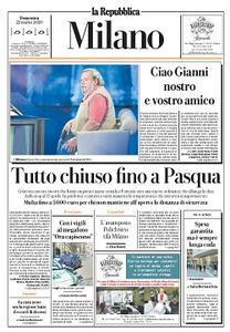 la Repubblica Milano - 22 Marzo 2020