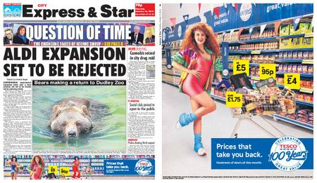 Express and Star City Edition – January 10, 2019
