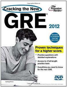 Cracking the New GRE with DVD, 2012 Edition (Graduate School Test Preparation) (Repost)