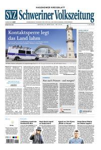 Schweriner Volkszeitung Hagenower Kreisblatt - 23. März 2020