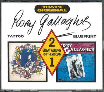 Rory Gallagher - Tattoo & Blueprint (1973)