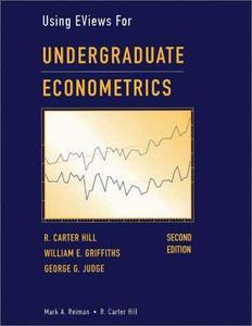 Using EViews For Undergraduate Econometrics (Repost)