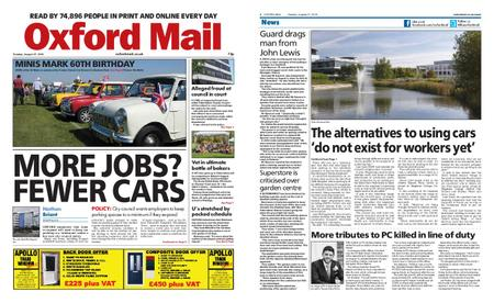 Oxford Mail – August 27, 2019